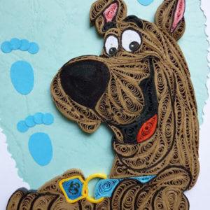 Квиллинг Собака. Как сделать собаку своими руками?