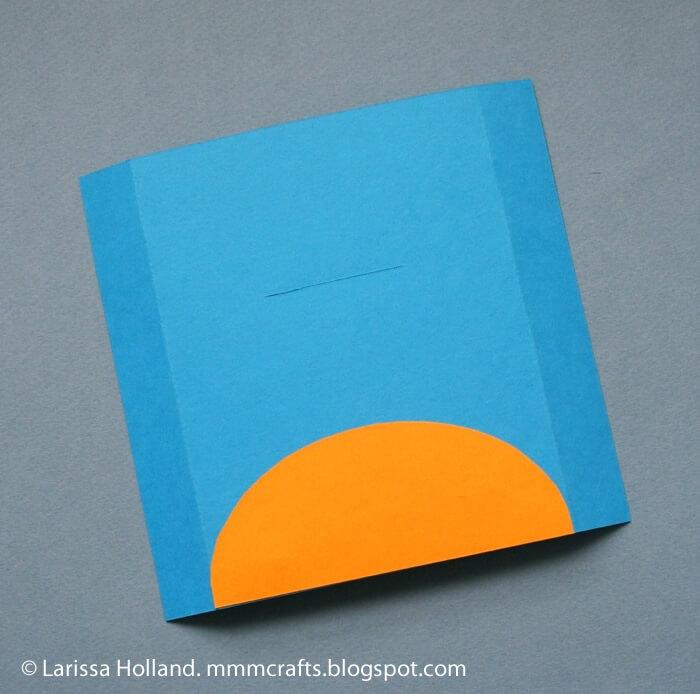 Открытка собачка из бумаги пошагово