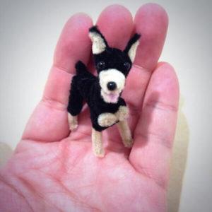 Как сделать собаку своими руками из пушистой проволоки (синельной проволоки)?