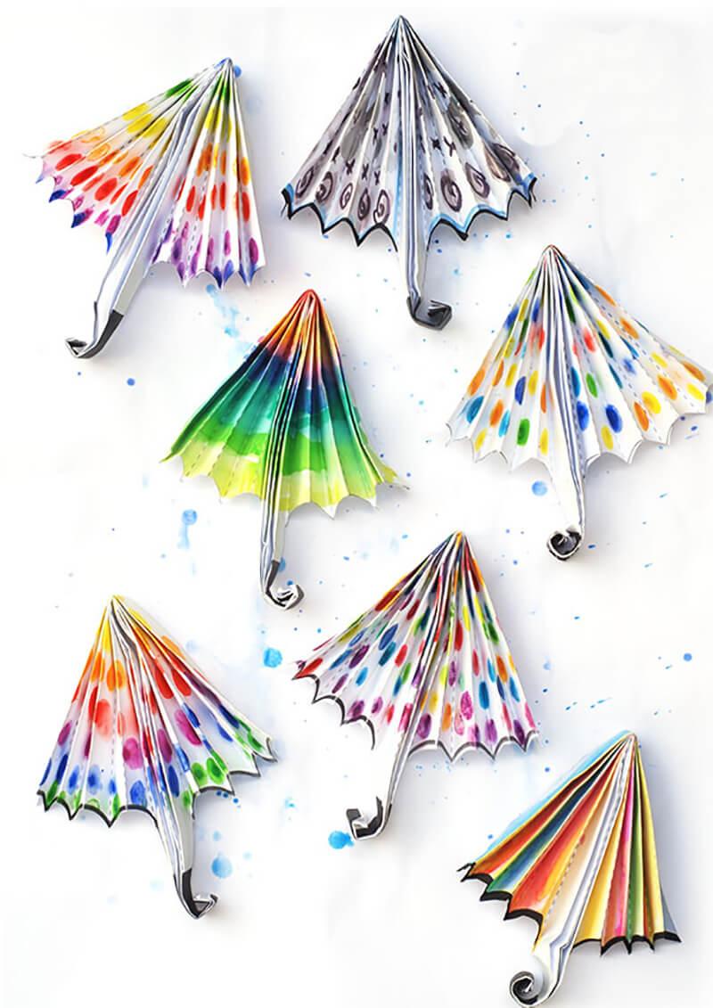 Объемный зонтик своими руками фото 325