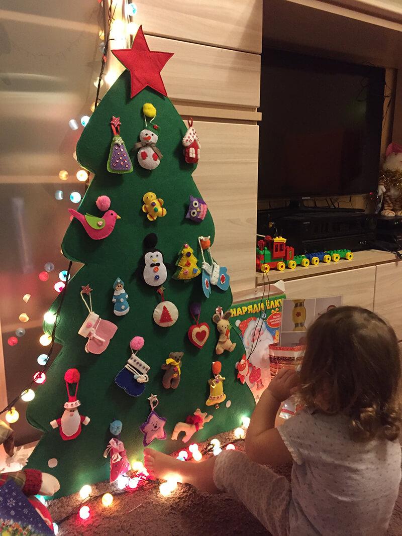 Детская елка своими руками фото 231