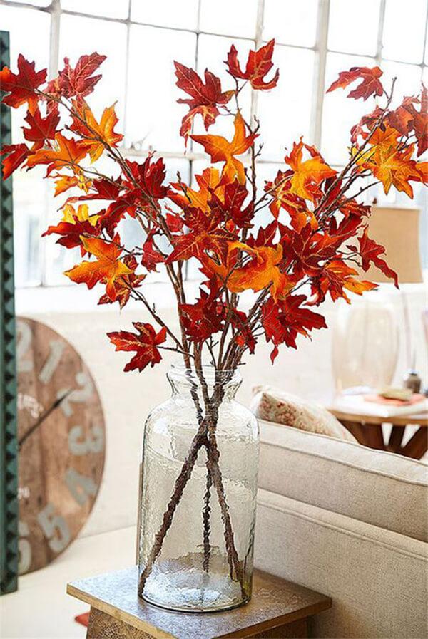 Осенние украшения дома своими руками