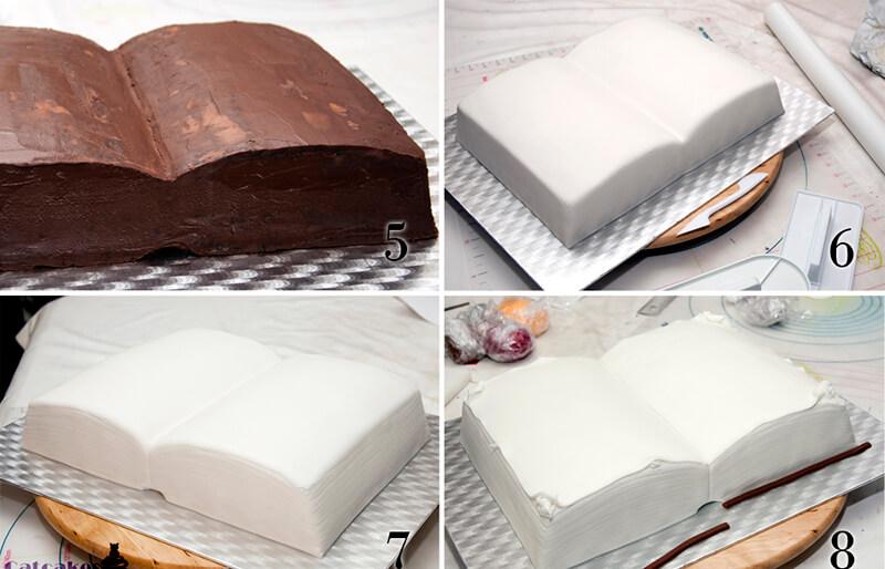Как сделать торт книгу фото 167