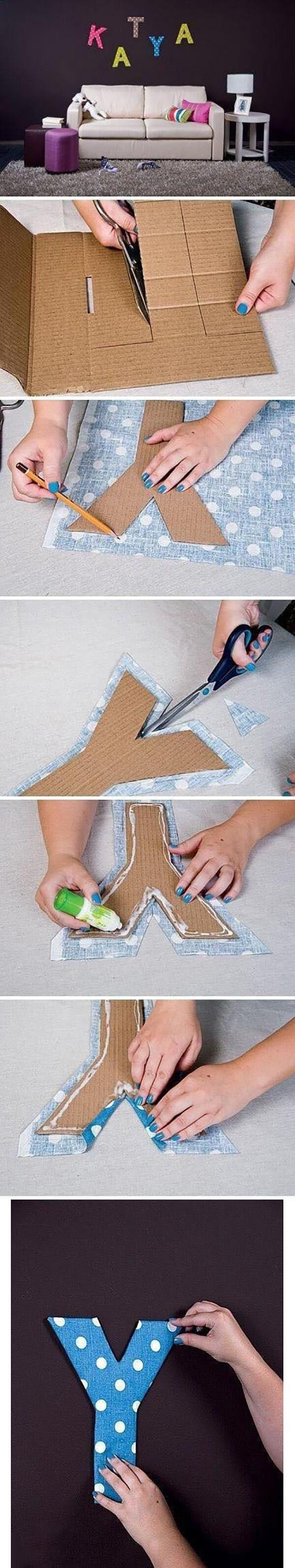 Как вырезать буквы из дерева своими руками