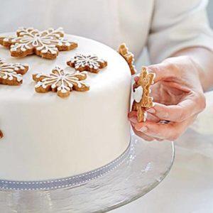 Торт Снежинка. Торт в виде Снежинки своими руками