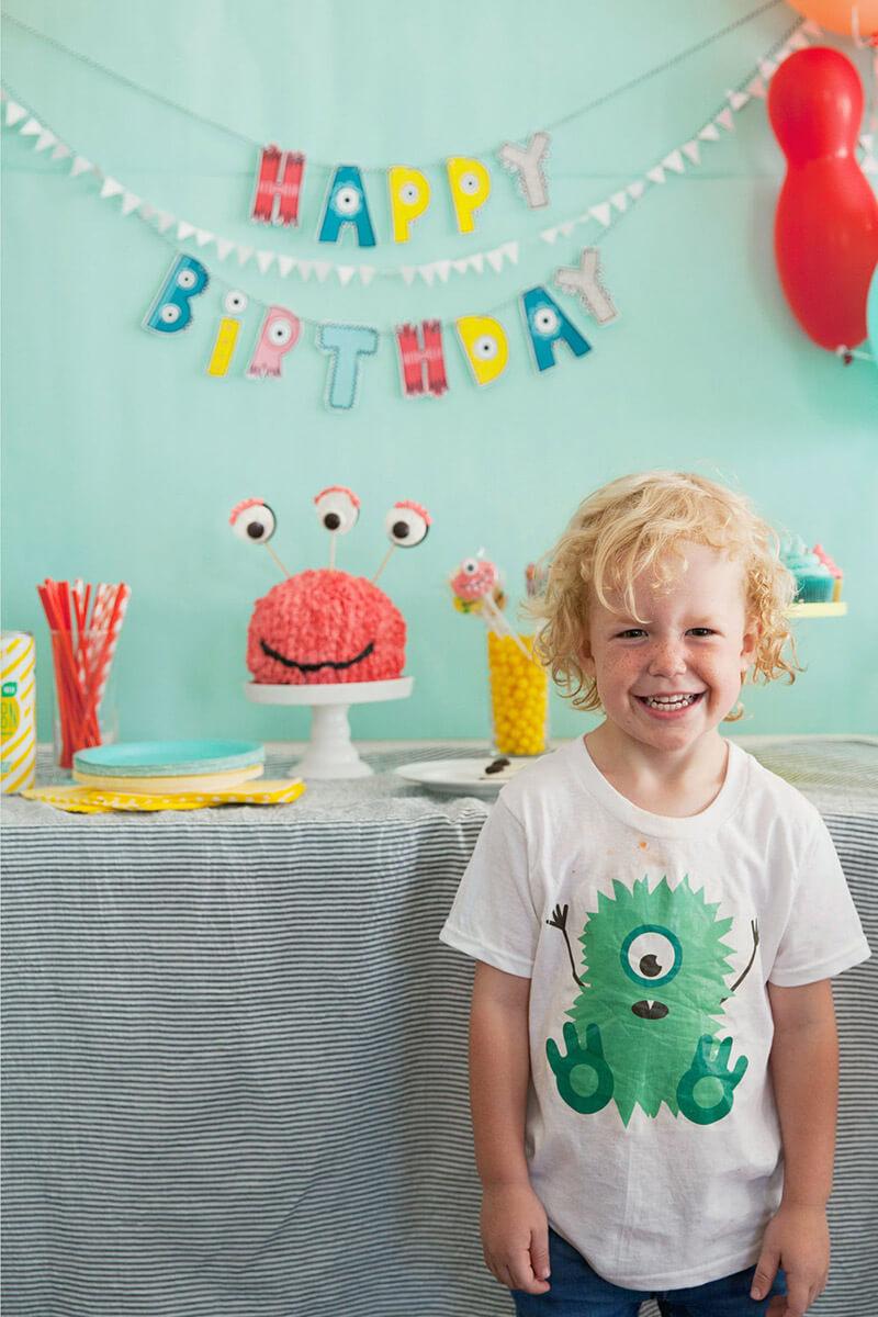 День Рождения в стиле Монстры: вечеринка монстров