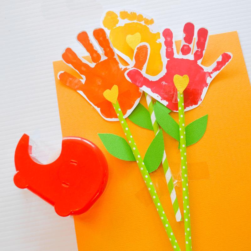 Открытки руками детей 4 лет с днем рождения