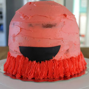 Торт Монстр. Как сделать своими руками торт в виде Монстра?