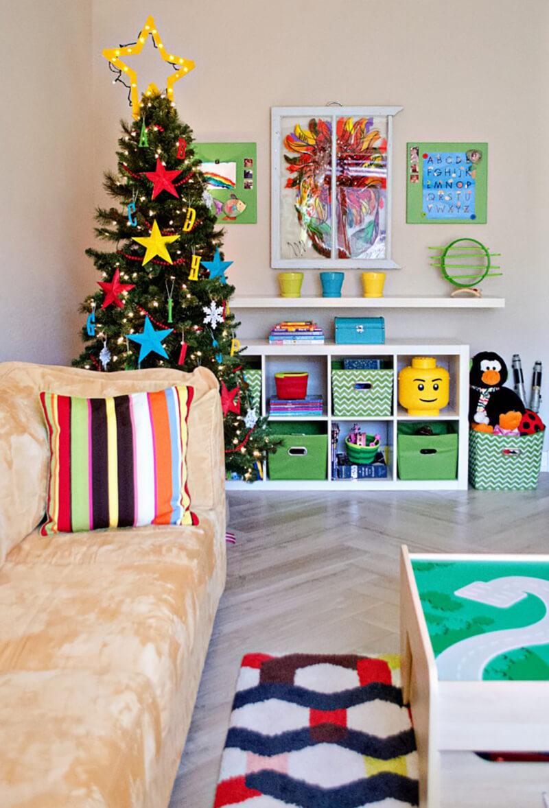 Как украсить детскую комнату на Новый год? Новогодний интерьер своими руками