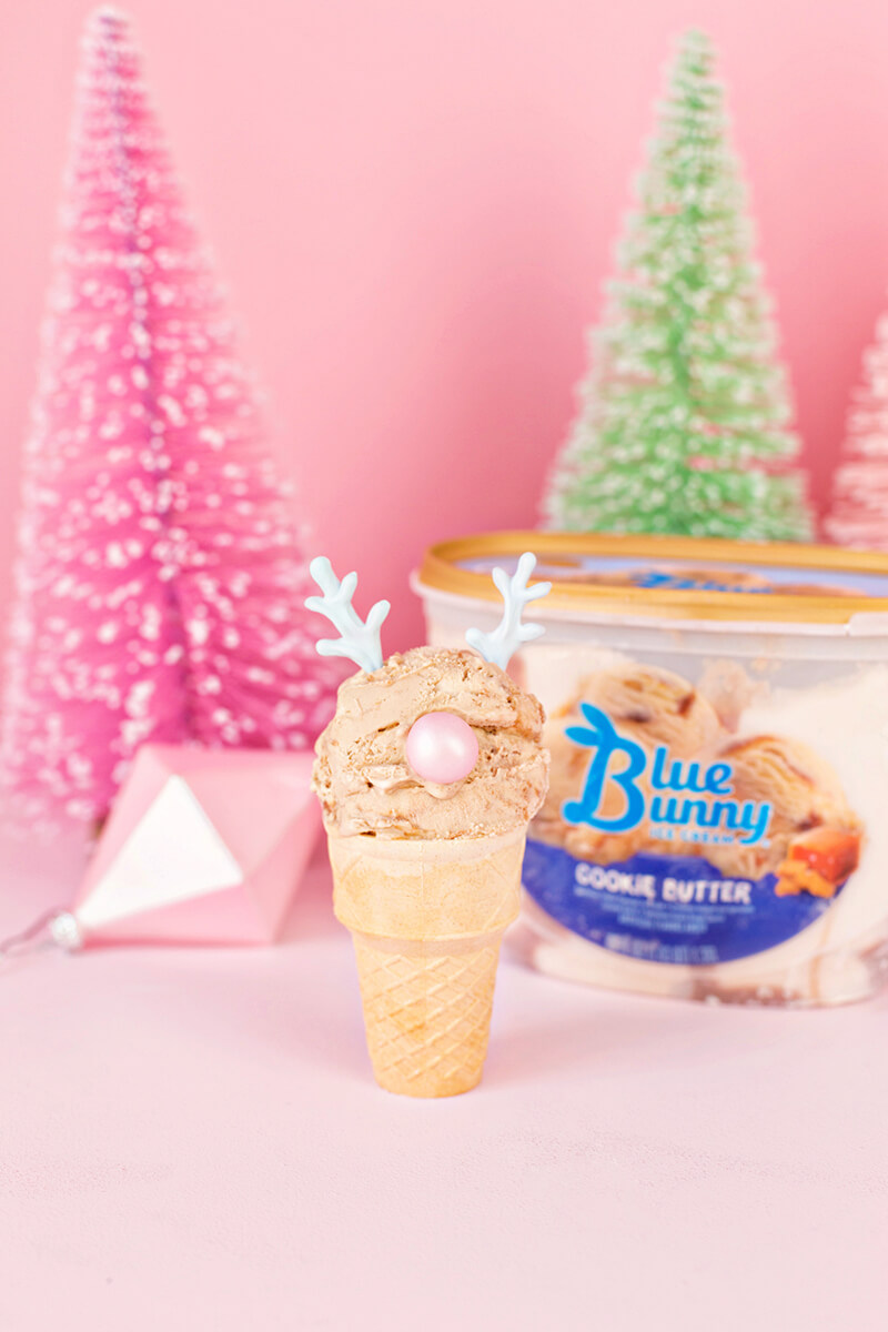 Новогоднее мороженое. Как украсить мороженое по-новогоднему?