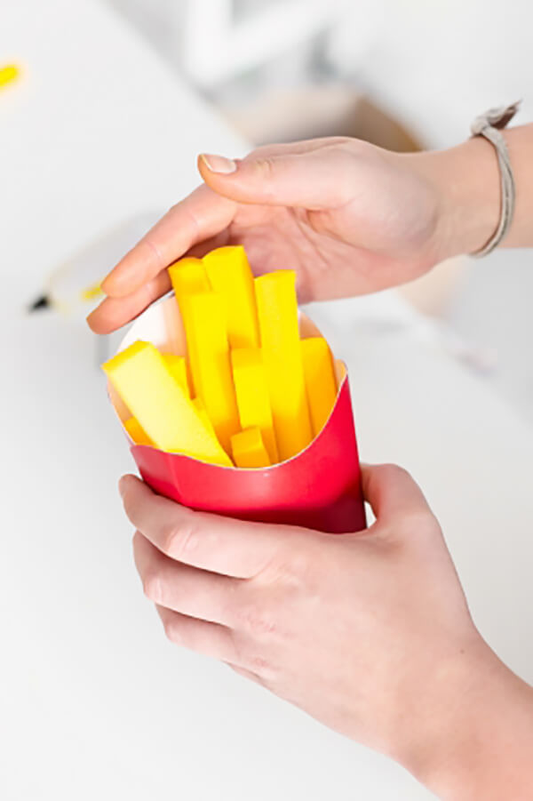 Елочные игрушки своими руками – Картофель Фри