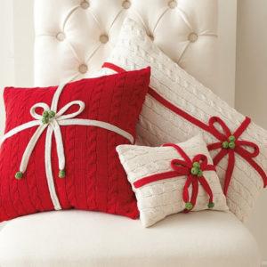Новогодние подушки. 10 новогодних подушек своими руками, которые сможет сделать каждый