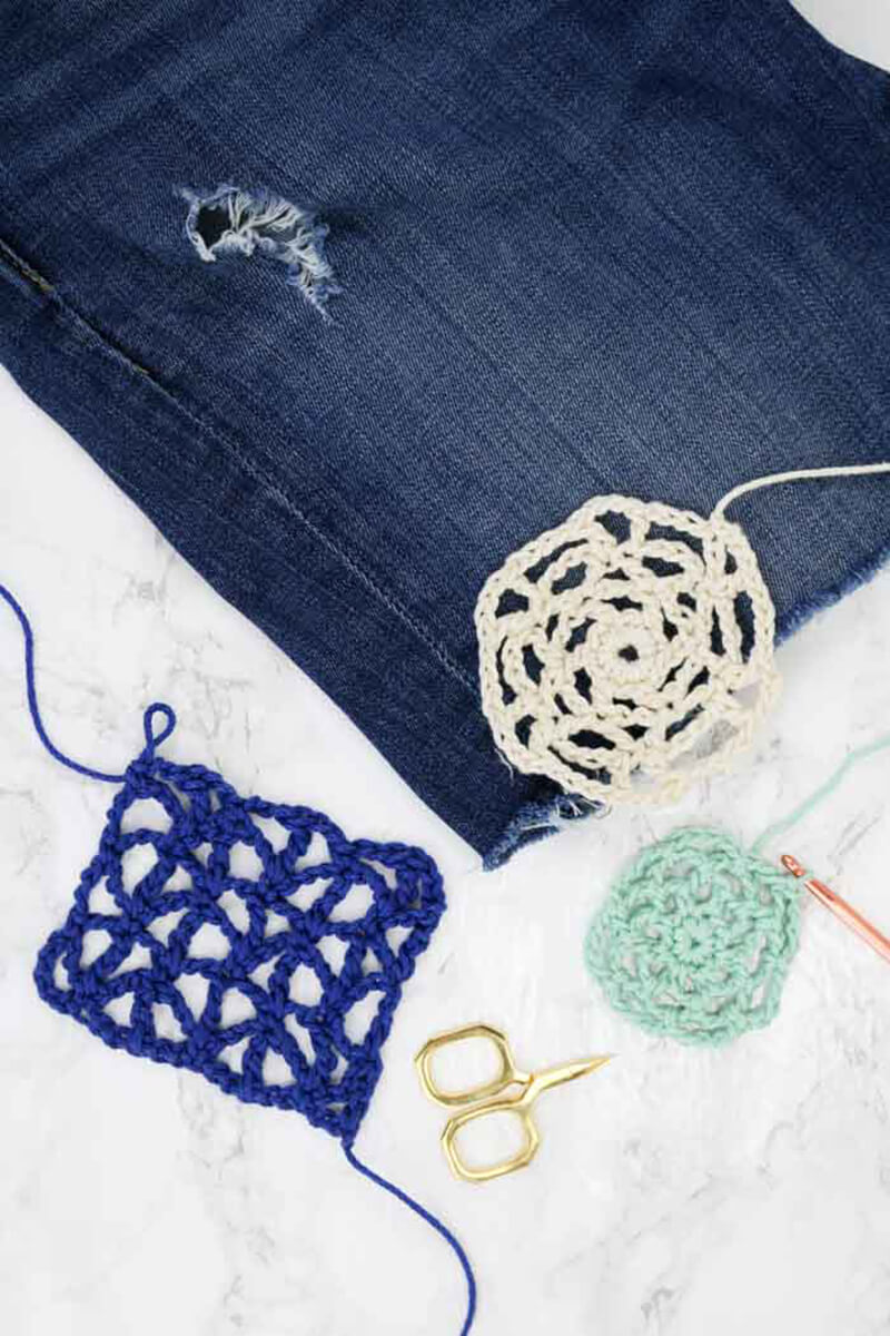Как украсить джинсы?  5 вариантов украсить старые джинсы своими руками