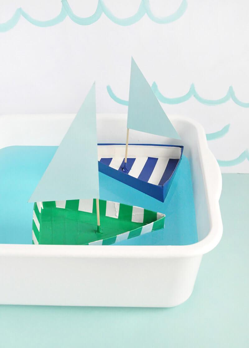 Кораблик своими руками. Как сделать кораблик своими руками?