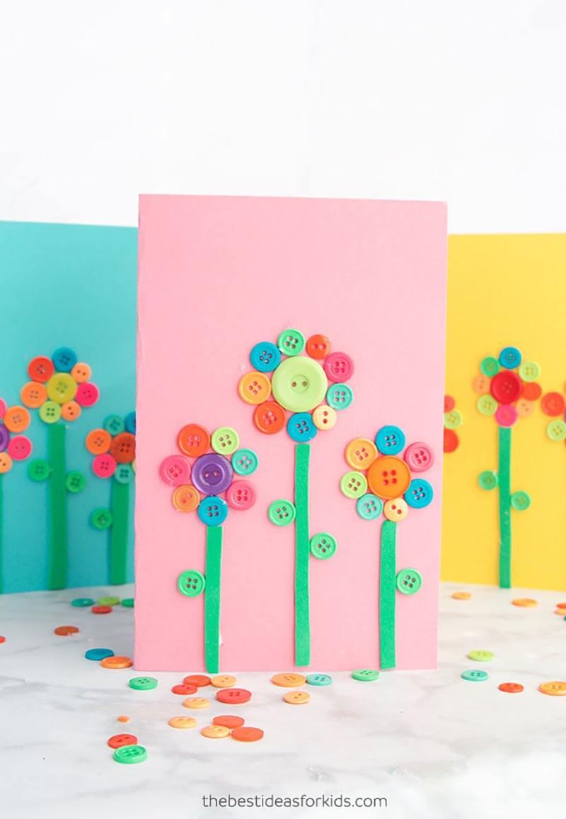Простые открытки для малышей своими руками, днем рождения
