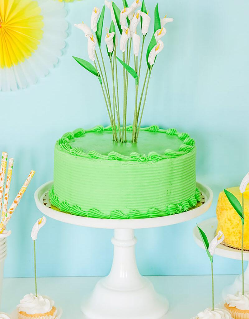Украшение торта своими руками из фруктов и