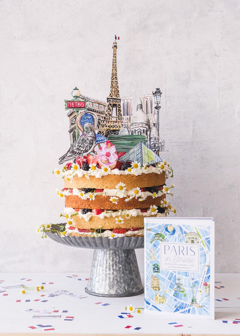 Торт Париж. Как украсить торт в стиле Париж?