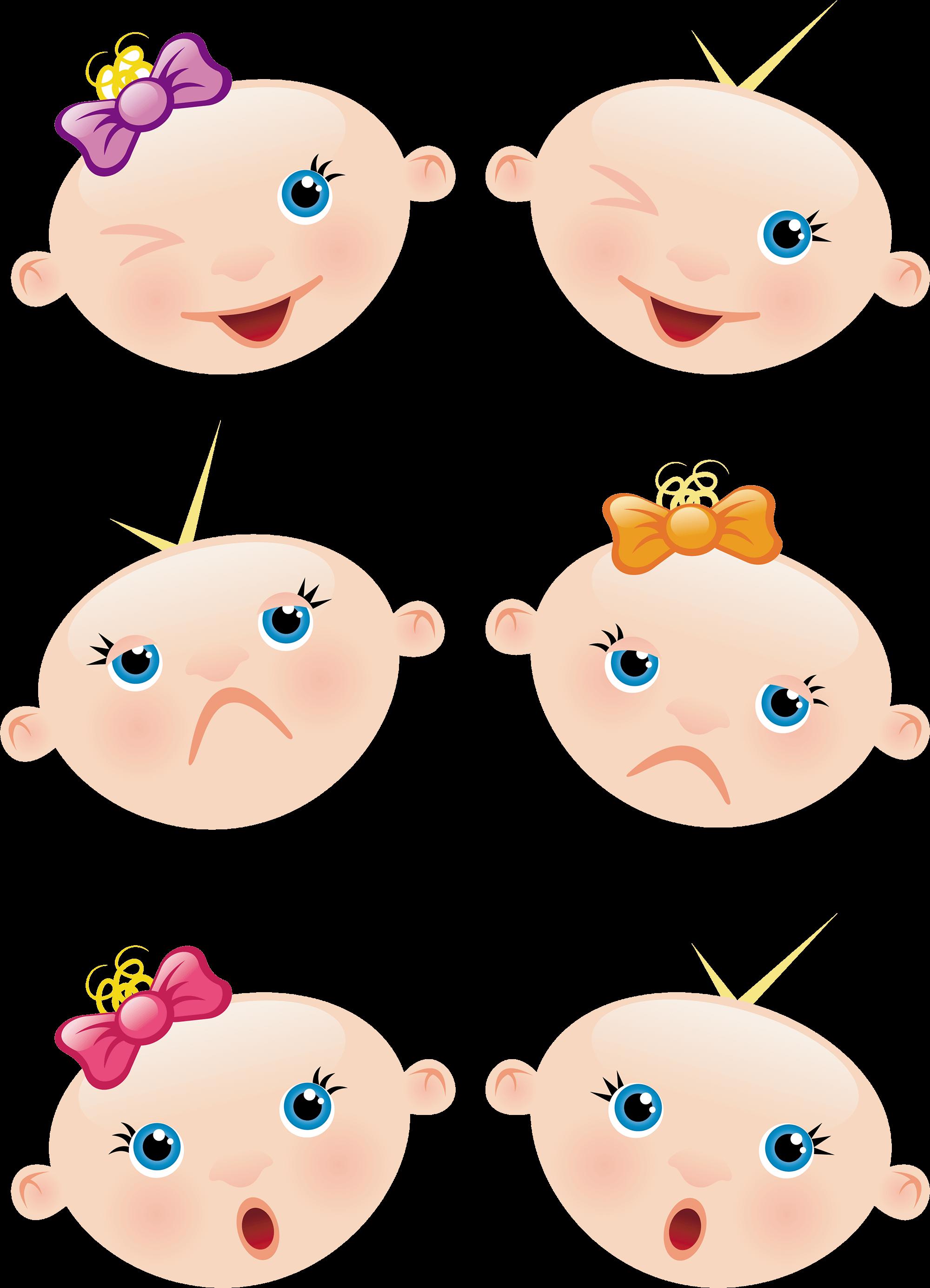 Детская мордашка картинки нарисованные