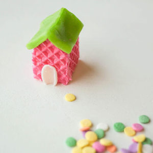 Что можно сделать из вафель? Вафельное платье, вафельная машина и вафельный дом своими руками