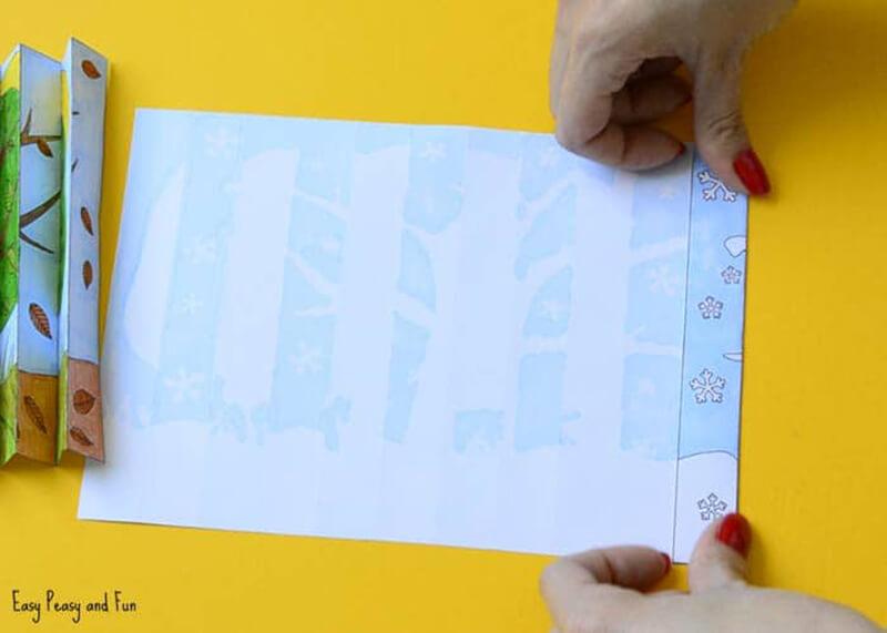 Игрушки Времена года. Развивающие игрушки для детей своими руками