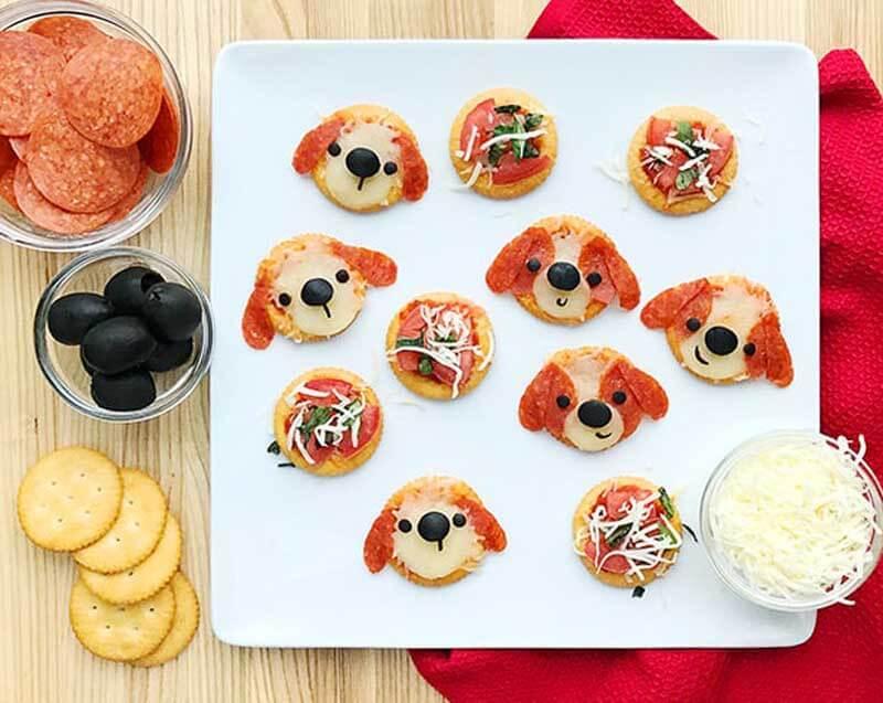 рецепт бутербродов с мордашками видио