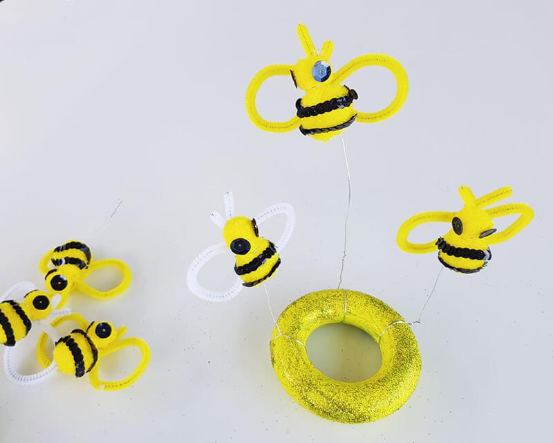Шляпка для девочки своими руками. Оригинальная шляпка для девочки с пчёлами