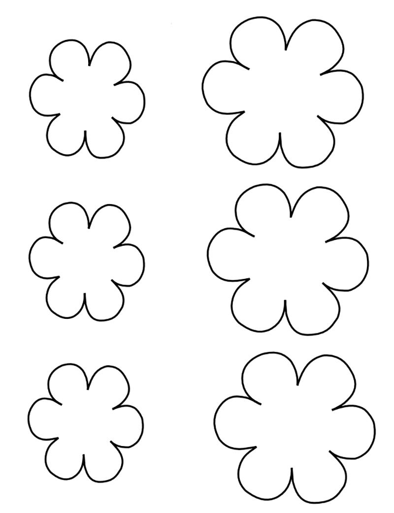 профилактика контур цветов для открытки помощью