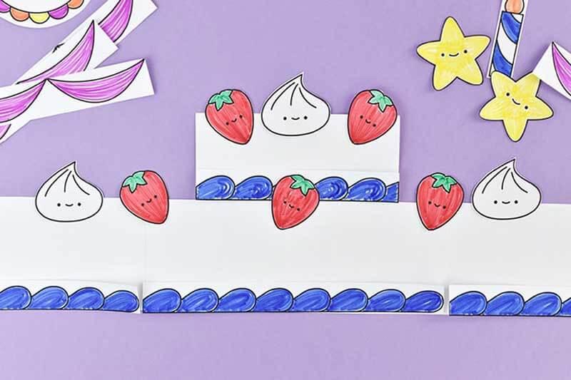 Торт из бумаги. Как сделать бумажный торт на День Рождения своими руками?
