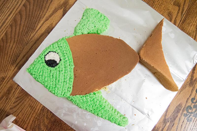 Торт Рыба. Торт в виде рыбы своими руками