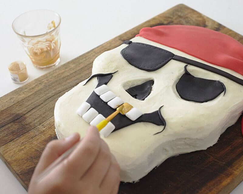 Торт Пират. Торт на пиратскую вечеринку своими руками