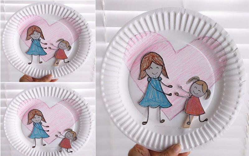 Для открыток, открытки своими руками на тарелке