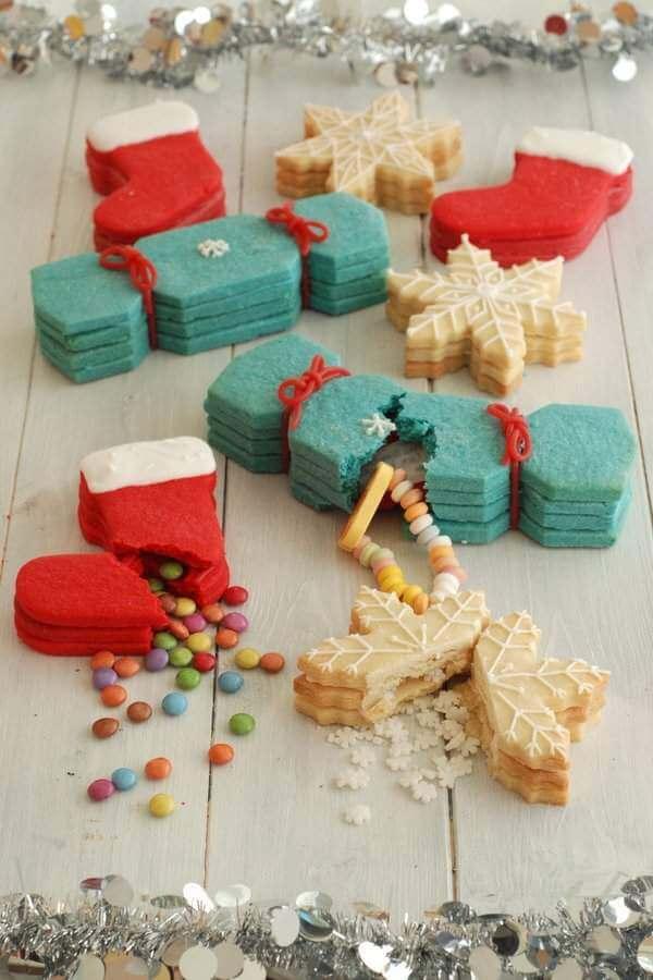 Новогоднее печенье с сюрпризом (предсказанием) внутри своими руками