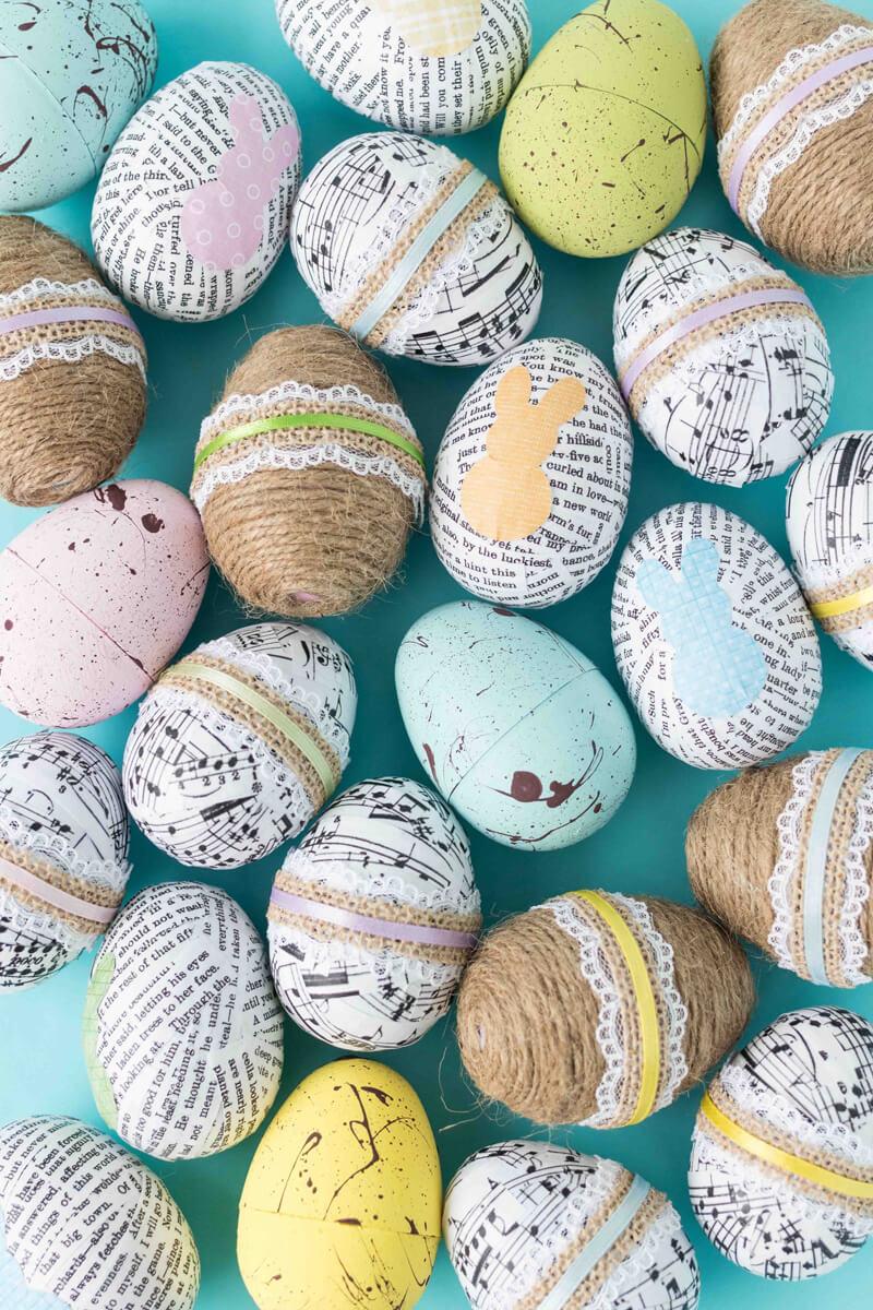 Пасхальные яйца своими руками: оригинальный способ украшения яиц к Пасхе