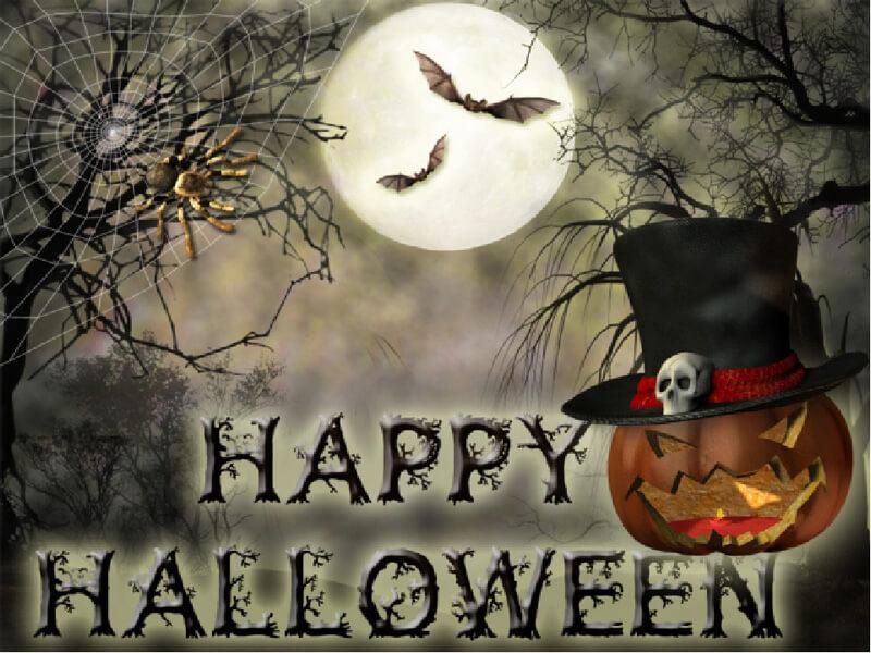 Картинка с хэллоуином прикольные