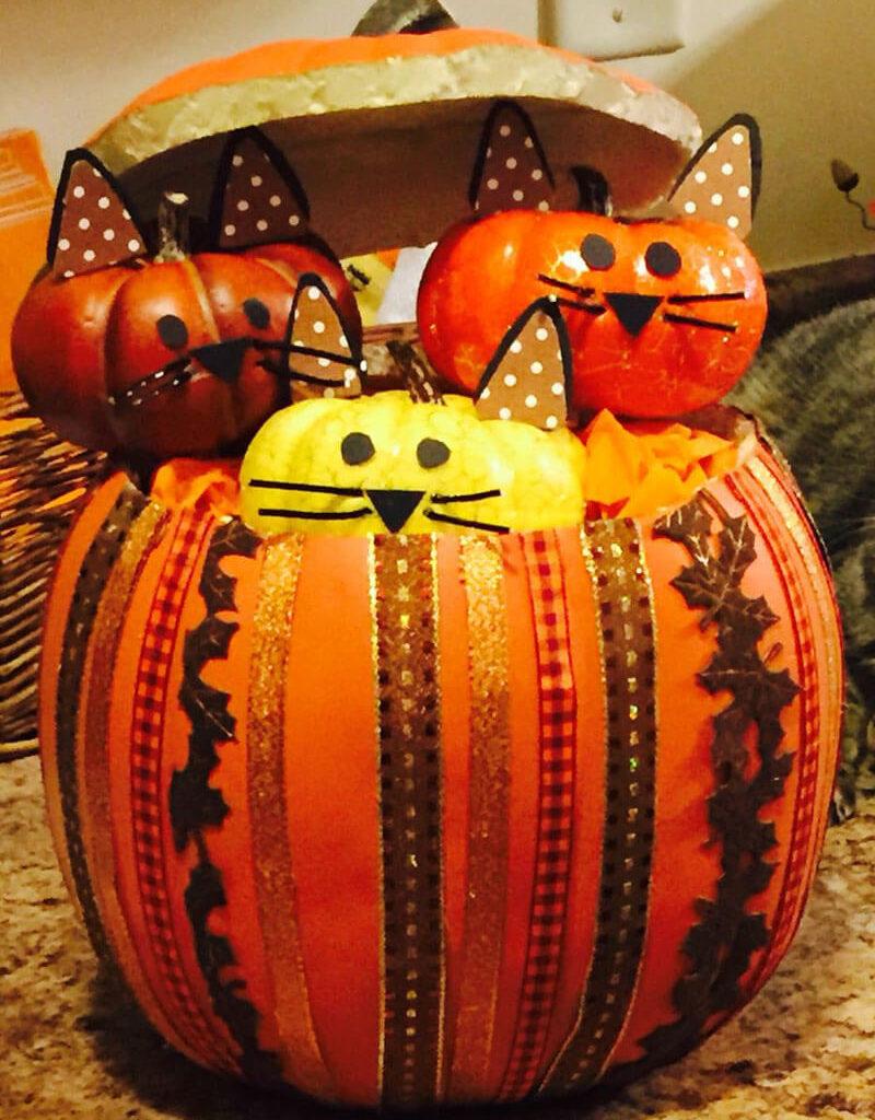 Поделки из тыквы. Поделки из тыквы на тему Осень и Хэллоуин