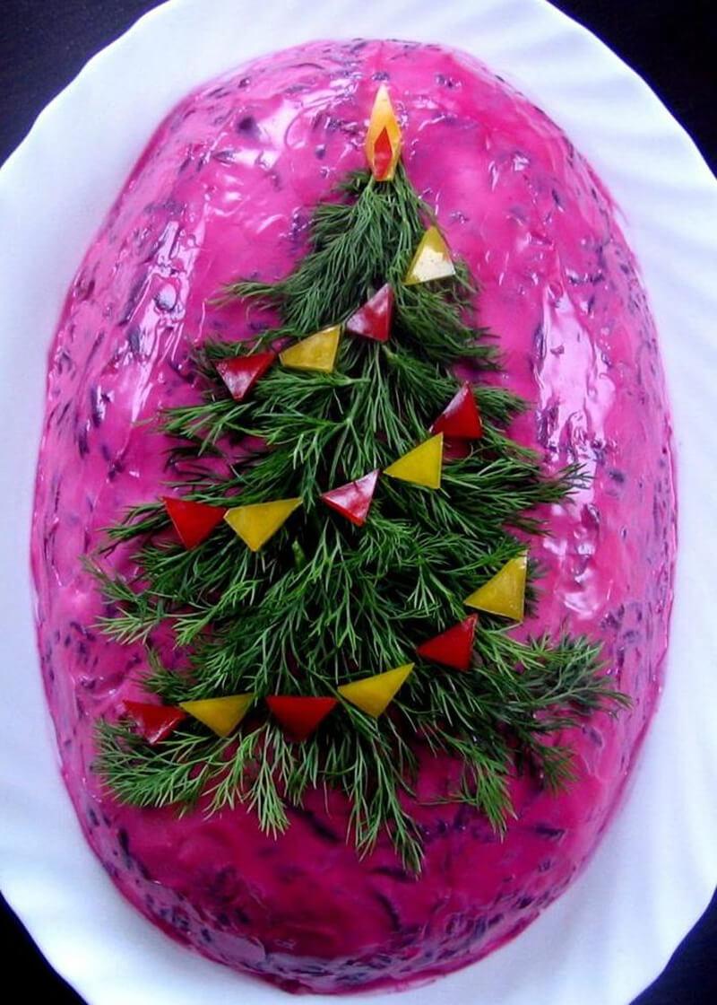 коммуникации как украсить салаты на новый год фото цену них