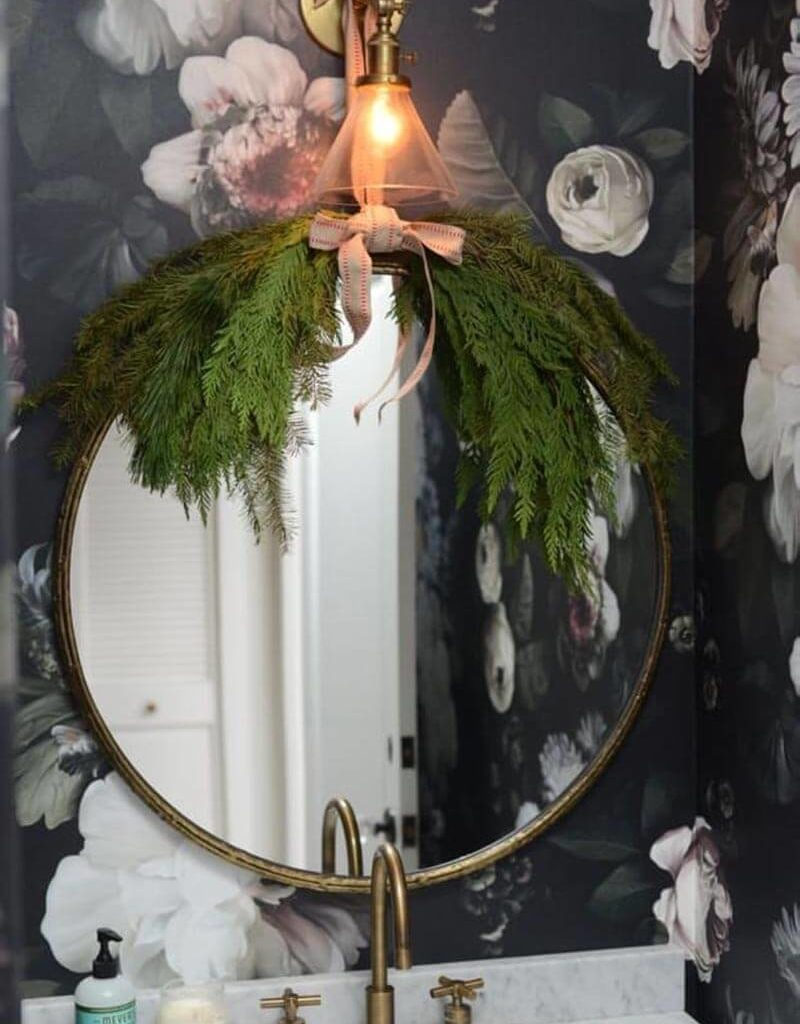 Как украсить ванную к Новому году своими руками?