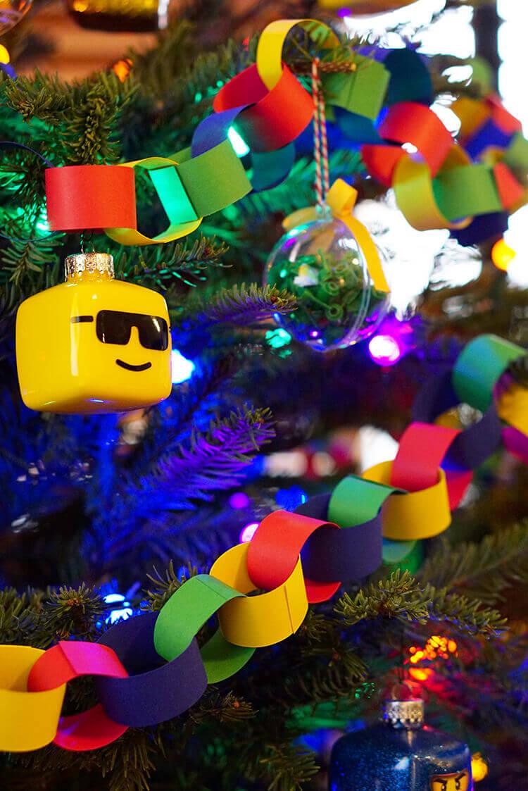 Лего елка. Как украсить новогоднюю елку в стиле Лего?