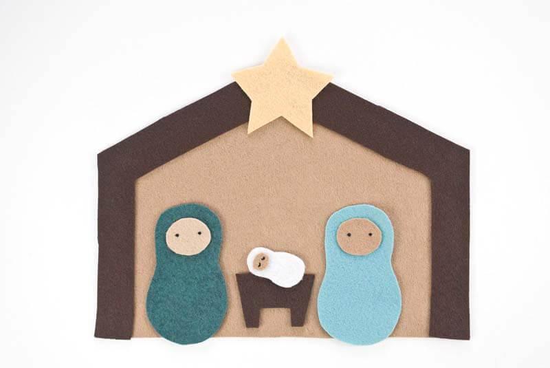 Поделки на Рождество своими руками из фетра