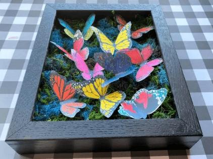 Картина Бабочки своими руками