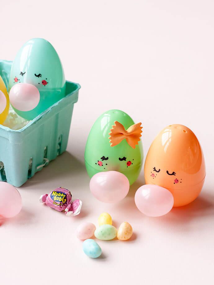 Пасхальные яйца из киндеров своими руками