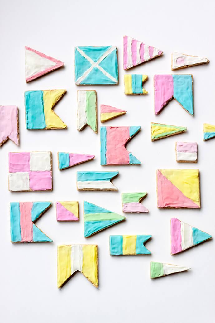 Печенье Флаг. Как сделать печенье в виде Флага?