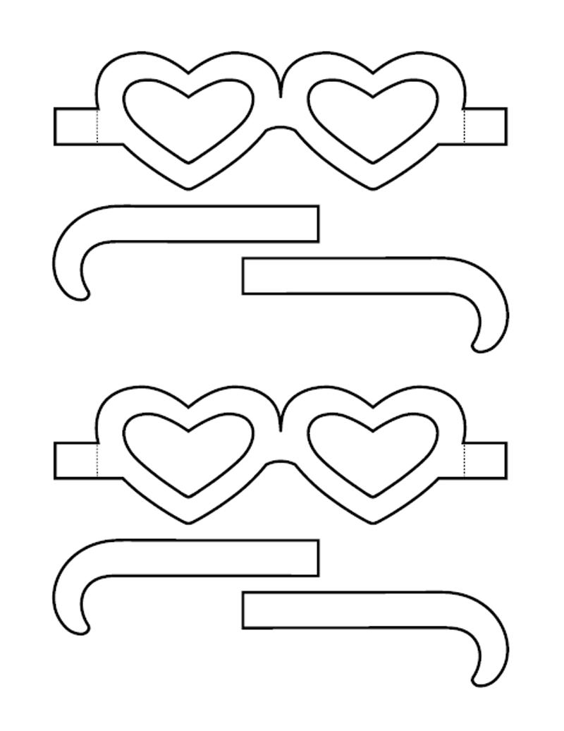 Очки из бумаги (шаблоны). Как сделать очки из бумаги своими руками?