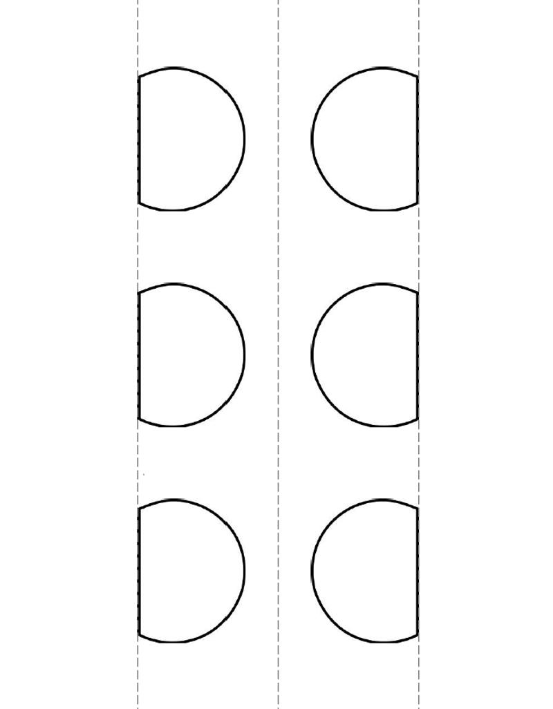 Тыква аппликация из бумаги