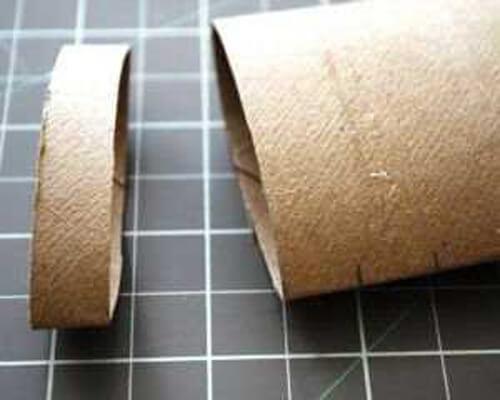 Тыква для детей из полосок бумаги