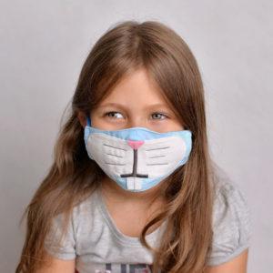 Идеи украшения детских медицинских масок к Новому году