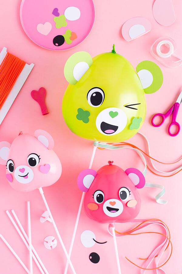 Воздушный шарик Мишка. Как сделать медведя из шарика?