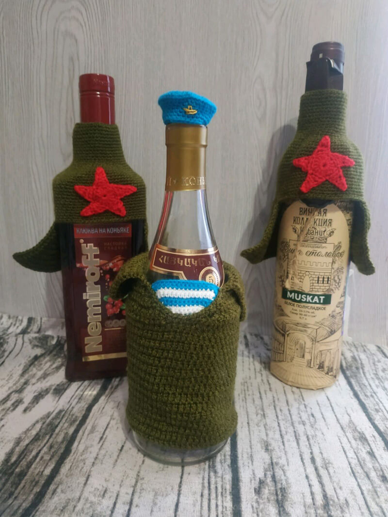 Как оригинально подарить спиртное на 23 февраля?