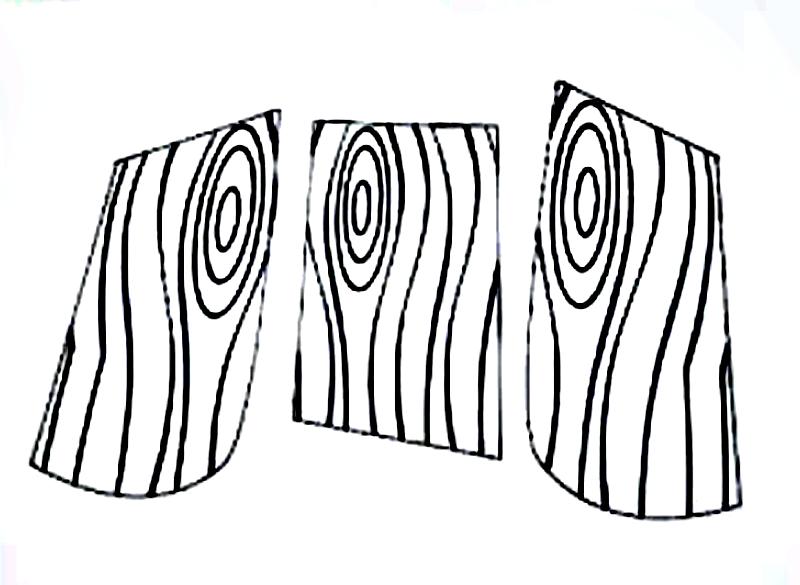 Аппликация Костер из цветной бумаги для детей