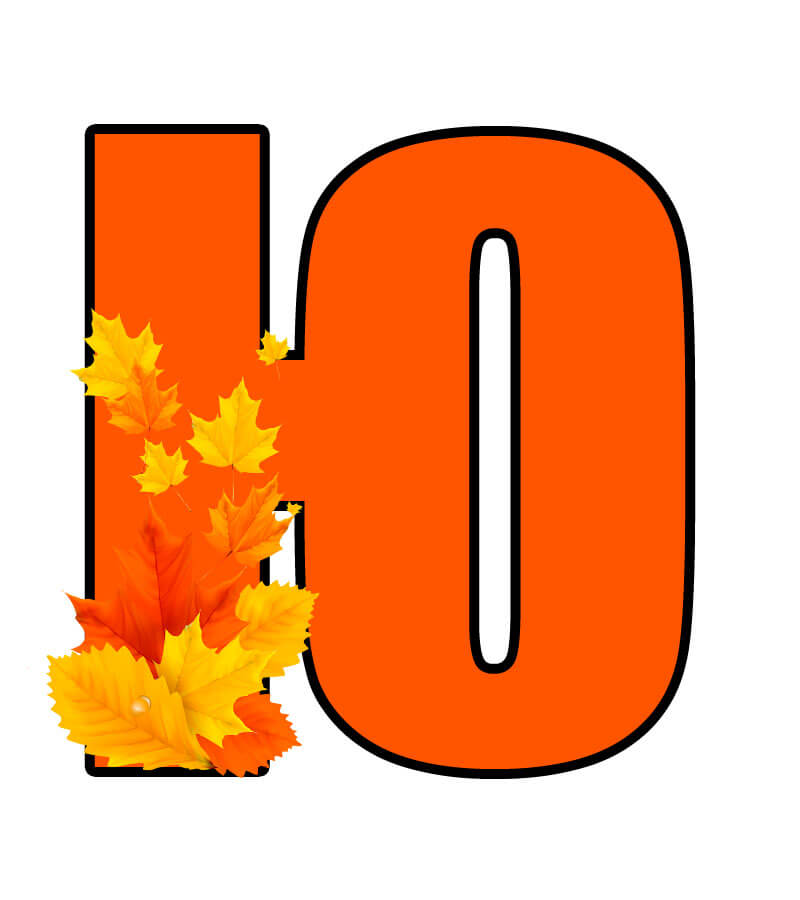 Осенний алфавит для оформления распечатать бесплатно